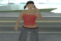 Девушки в GTA San Andreas